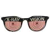 Retro-a-go-go X-Ray Vision Embroidered Iron on Patch
