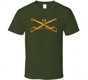 3XLARGE - Army - 15th Cavalry Branch wo Txt - Military Green