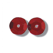 Impex Extra Value Round Cup Sequins Red - per pack of 600