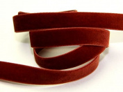 9mm Berisford Velvet Ribbon Mini Roll 5m 9706 Havanne - per 5 metre roll
