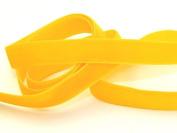 9mm Berisford Velvet Ribbon Mini Roll 5m 9528 Maize - per 5 metre roll