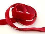 9mm Berisford Velvet Ribbon Mini Roll 5m 9422 Beauty - per 5 metre roll
