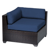 TK Classics Belle Corner Chair with Cushions