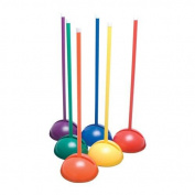 BSN Sports Multi-Dome Wand-Posts in Colorz