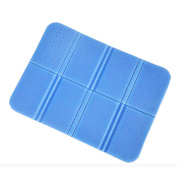 Portable Water Proof Sand Proof Beach Outdoor Picnic Blanket Foldable Hard Mat for Hiking Camping UHBGT Blue