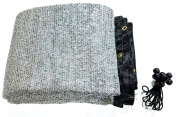 85% Aluminet shade fabric FREE 15cm BALL BUNGEE 10PCS 6.1mx 7.3m