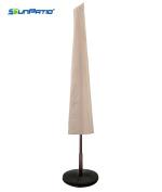 SunPatio Outdoor Umbrella Cover, 60cm W x 190cm H, Lightweight, Water Resistant, Eco-Friendly, Fits up to 3.4m Umbrella