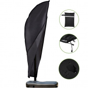 Scorpiuse Patio Offset Umbrella Cover with Zipper Waterproof Fits 2.7m to 3.4m Banana Cantilever Parasol Umbrellas