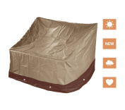 Deluxe Heavy Duty Outdoor Waterproof Loveseat Cover Patio Protection YS35P