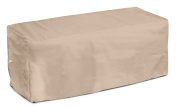 KoverRoos Weathermax 44207 2.4m Bench Cover, 240cm Width by 60cm Diameter by 90cm Height, Toast