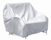 Protective Covers Weatherproof 2 Seat Glider Cover, Grey