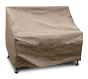 KoverRoos III 34202 1.2m Bench/Glider Cover, 130cm Width by 70cm Diameter by 90cm Height, Taupe