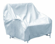 Protective Covers Weatherproof 3 Seat Glider Cover, Grey