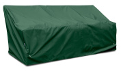 KoverRoos Weathermax 66450 Deep 3-Seat Glider/Lounge Cover, 230cm Width by 90cm Diameter by 80cm Height, Forest Green