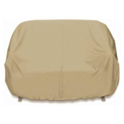 Smart Living 2D-PF63365 Loveseat Cover With Level 4 UV Protection, Khaki