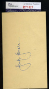 JACKIE JENSEN JSA COA CERTIFIED AUTHENTIC HAND SIGNED 1953 GPC AUTOGRAPH