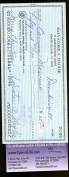 SAL MAGLIE SIGNED cheque JSA CERTIFIED AUTHENTICATED AUTOGRAPH