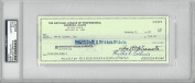 Bart Giamatti Signed Authentic Autographed Cheque Slabbed PSA/DNA #83582913
