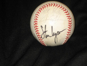 Mlb Stars (6) Signed Autographed Onl William White Baseball Steve Lyons & Others - NFL Autographed Miscellaneous Items