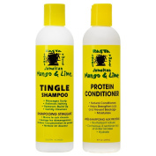 Jamaican Mango & Lime Tingle Shampoo & Protein Conditioner, Duo