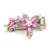 Frcolor Vintage Jewellery Crystal Hair Clips Hairpins- For Hair Clip Beauty Tools