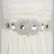 Venusvi Wedding Belt with Rhinestone Bridal Belt For Bride