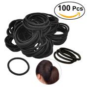 Frcolor Elastics Hair Ties Bands Rope No Crease No Metal for All Hair Types Durable Strong