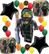 The Lego Ninjago Movie Deluxe Party Balloon Decorating Bundle
