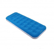 190cm Blue and White Flocked Inflatable Adult's Air Matress