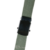 5ive Star Gear TSP-4135000 44 Web Belt with Closed-Face Buckle Olive Drab