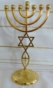 Jewish Messianic Temple Menorah 22cm Tall by Bethlehem Gifts TM