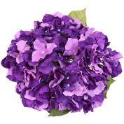 Luyue 5 Big Heads Artificial Silk Hydrangea Bouquet Fake Flowers Arrangement Home Wedding decor