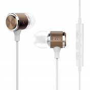 ILUV METALFSGD Metal Forge In-Ear Earbuds with Microphone