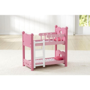You & Me Baby Doll Bunk Bed Set