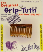 Good Hair Days The Original Grip-Tuth Hair Combs, Set of 2, 40163 Shorty 4.4cm Wide