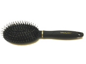 Detangle and Smooth Brush, Dual Bristle Brush, Nylon and Boar Bristles, Comfort Tip Cushion Brush