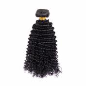 MY LADY 100% Indian Virgin Human Hair Kinky Curly Unprocessed Weave Hair 100g per Bundle