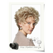 European and American short wig fluffy wig 0092- hairpieces wigs wig volume volume wig