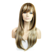 Synthetic wig lady fashion wig caps in Europe and America the whole top wig083- synthetic wig fashion caps wig