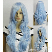 Europe wig80cm stage fake wig co RPG - wigs hairpieces Europe and America long curly hair wig long curly hair in Europe and America wig80cm