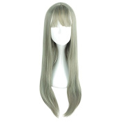 Mcoser 70CM Air Bang Lolita Cosplay Wig Fahsion Halloween Hair
