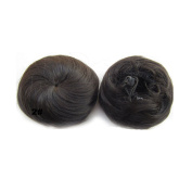 Synthetic Up Do Hair Bun Extension Donuts Chignon Hairpiece Wig