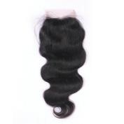 Esth Hair Boby Wavy 4x 4 Free Style Lace Frontal Best Brazilian Human Hair Ear to Ear