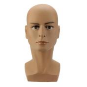 Male Model Mead, Efaster Male Mannequin Head Hat Display Wig Training Head Model Head Model