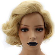 Anogol Hair Cap+ Sexy Short Curly Women's Hair Wig Synthetic Wigs for Party