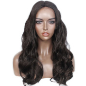 LiyaHair Lace Front Wig Body Wave Synthethic Hair Wig Length Wavy Natural Wavy Soft Fibre Hair Glueless Wig Middle Part for Black Women