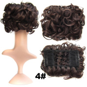 Hair Wig,by Vibola Pull flower wigs Hair Lace Front Wig Synthetic Wigs Artificial hair For Women