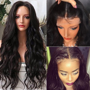 Wet And Wavy Full Lace Wigs With Baby Hair 150% Density Brazilian Virgin Hair Middle Part Full Lace Human Hair Wigs For Black Women