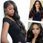 Giannay Hair Pre Plucked 360 Lace Frontal Wig 150% 180% 250% Density Body Wave 8A Brazilian Virgin Human Hair 360 Lace Wigs with Baby Hair Natural Hairline for Black Women