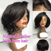 Short Weave Human Hair Wigs Bob Wig Lace Front Wigs Glueless Full Lace Wigs 100 Brazilian Wig for Black Women Natural Baby Hair